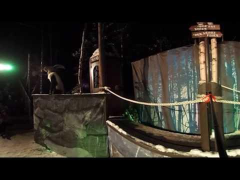Trollskogen i Hunderfossen Vinterpark 2017