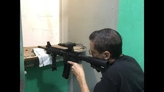 Shooting range in a Wheelchair (Smith & Wesson, Glock)