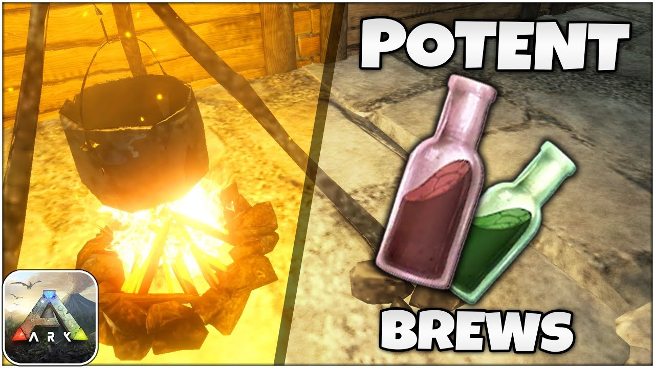 POTENT Medical & Energy Brews Tutorial! | ARK Survival Evolved Mobile