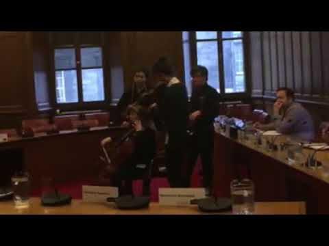City of Edinburgh Music School in Council Chambers SaveCoEMS