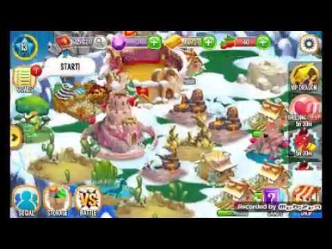 Menang Battle Dragon City Android 1 Youtube