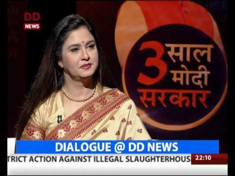 3 Saal Modi Sarkar: Dialogue@DDNews with Union Ministers Maneka Gandhi and Prakash Javadekar