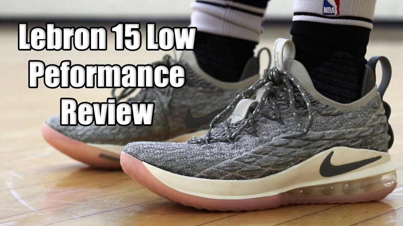 Nike Lebron 15 Low Performance Review - YouTube 7afb7117d