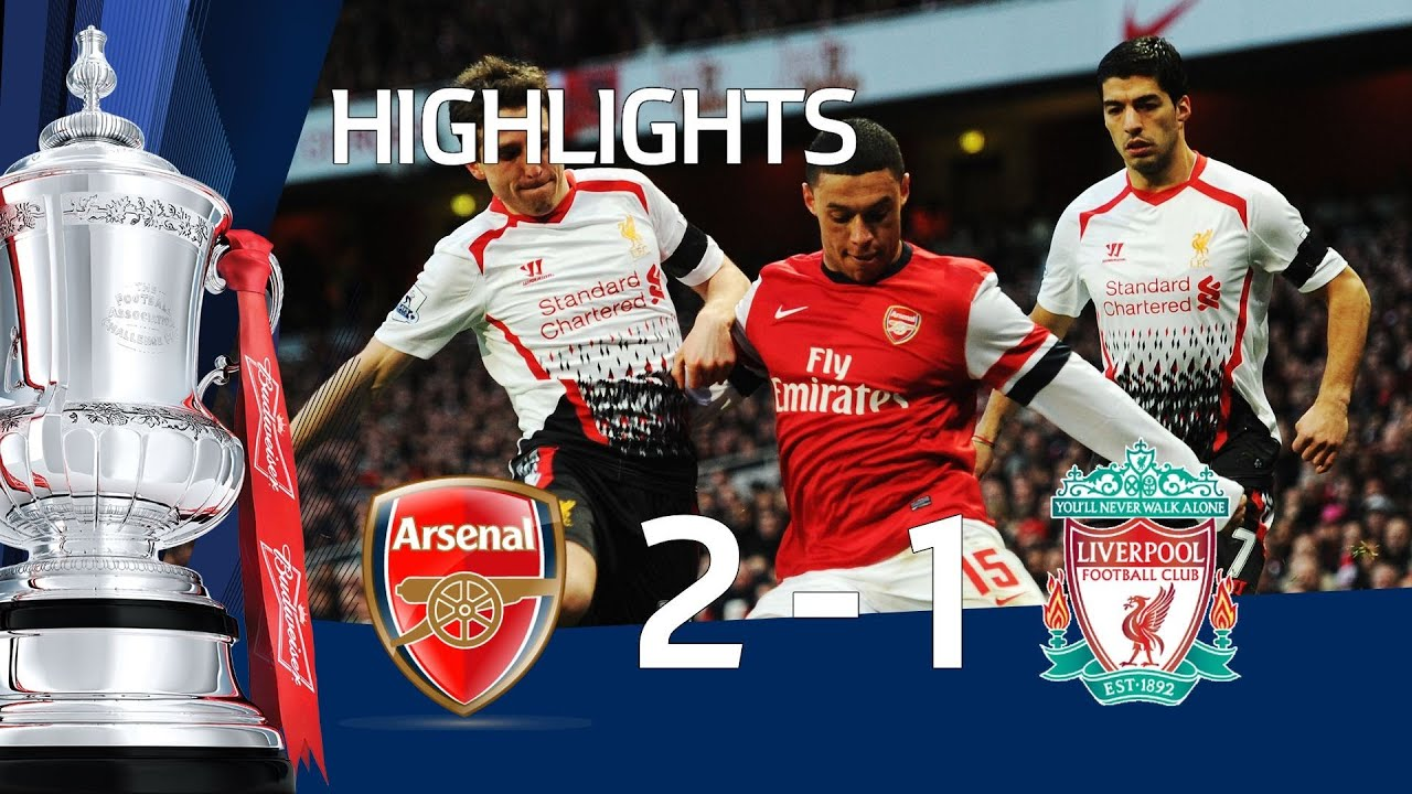 Arsenal Vs Liverpool   Fa Cup Th Round Goals Highlights