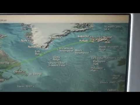After departing Keflavik, Iceland, flying to NYC via Long Islands East End - 20140910125508 1