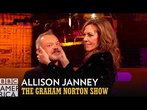 Allison Janney Reveals Meryl Streep's Kissing Technique   The Graham Norton