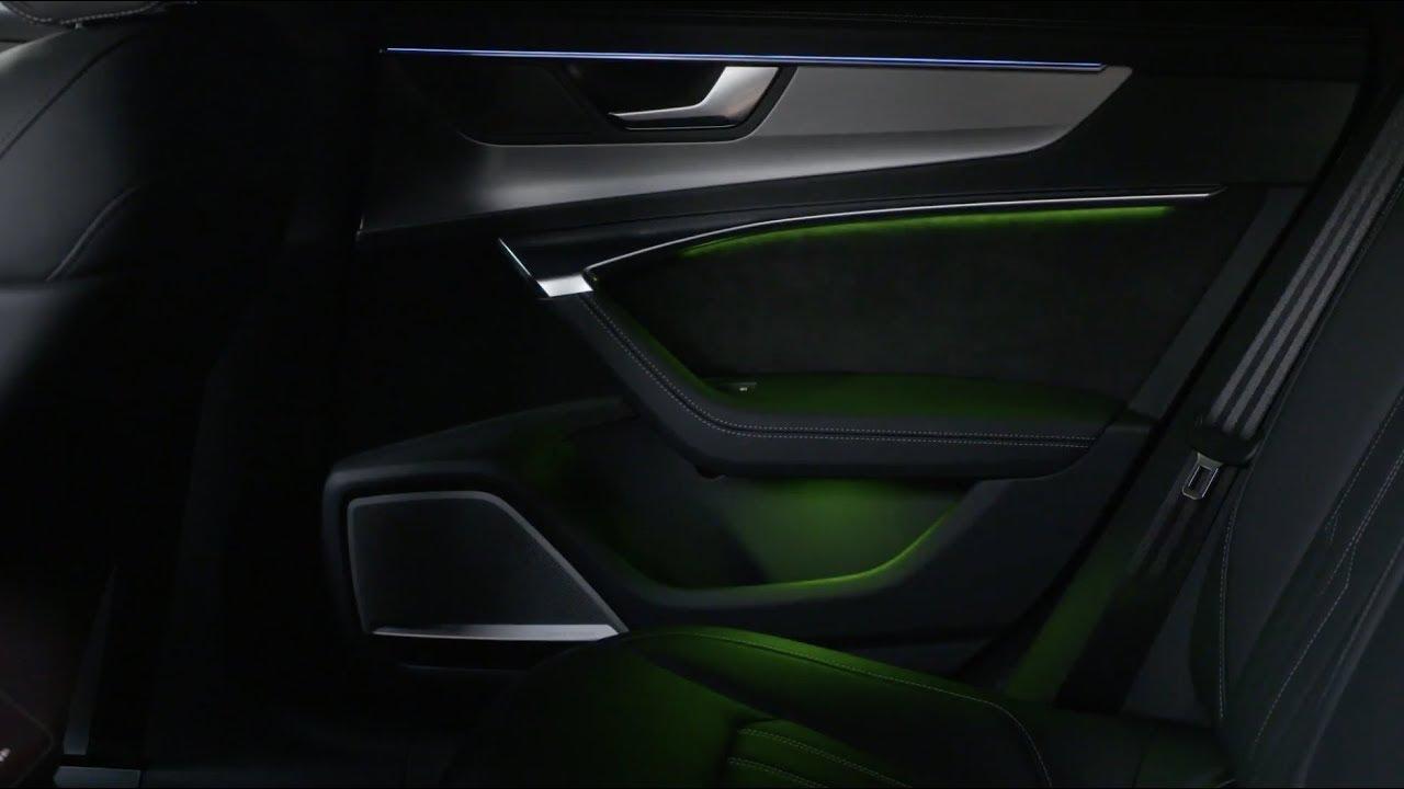 2018 audi a7 interior design ambient lighting [ 1280 x 720 Pixel ]