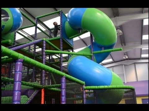 Thumbnail: Indoor Playground Fun Cool Children's Play Center Ball Pool Slides Playroom | TheChildhoodlife