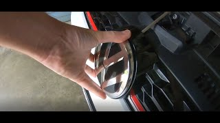 homepage tile video photo for 2018 VW GTI SE Ep.224: How To Remove your MK7.5 Front Emblem (and Wrap It)