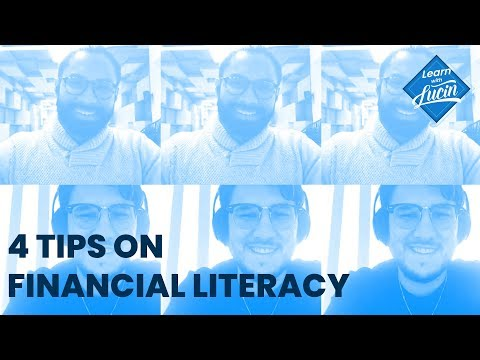 4 Tips of Financial Literacy, Live with Leo Gonzalez