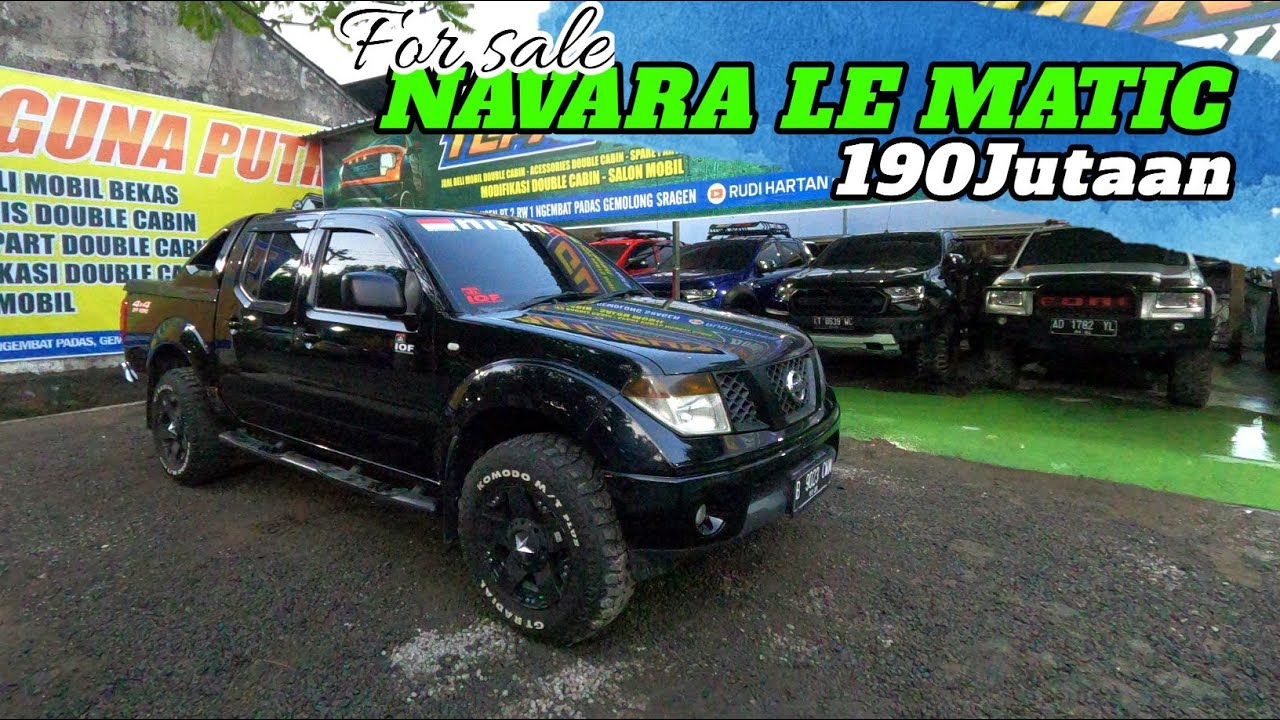 FOR SALE NAVARA LE MATIC || 190Jutaan ||