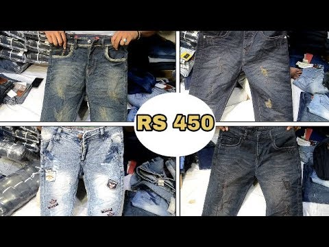 b8a823c453511 Wholesale First Copy Jeans For Men (1st Copy ₹450)