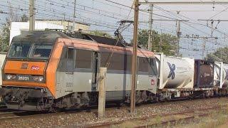 des trains qui passent - ORANGE  - 13/9/2016
