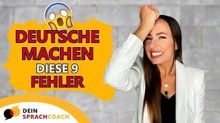 DIESE FEHLER MACHEN DEUTSCHE MUTTERSPRACHLER (lerne mehr über die deutsche Umgangssprache)