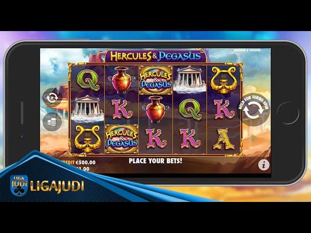 FREE SPINS di Hercules & Pegasus Pragmatic Play Liga Judi