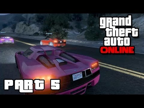 GTA ONLINE Part 5 - Männliches Rennen (HD) / Lets Play Grand Theft Auto Online