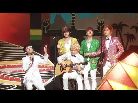 【TVPP】FTISLAND - I Wish (trot ver.), 에프티아일랜드 - 바래 (트로트 ver.) @ Special Stage, Show Music core Live