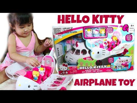 c4e59c7829 Hello Kitty Airplane Playset - YouTube