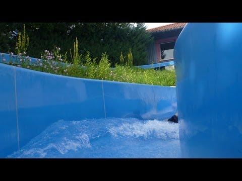 Badkap Albstadt - Wildwasserrutsche