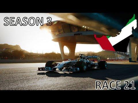 F1 2016 Abu Dubai Grand Prix Season 3 Race 21 FINALE Drivers Champion??