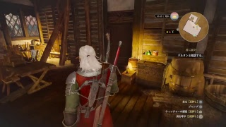 The Witcher 3 ウィッチゃー3始めました 初見