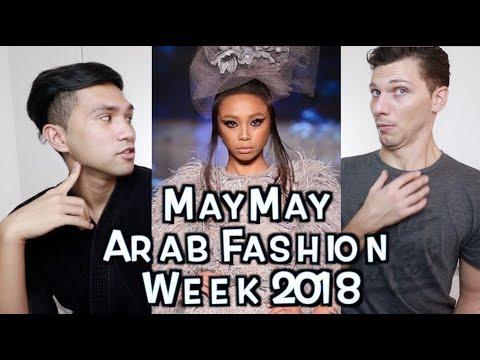 May May Entrata Arab Fashion Week REACTION 😱