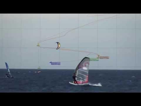 Kiterace slalom cup, Pirita @ 05.10.13 - Race 3