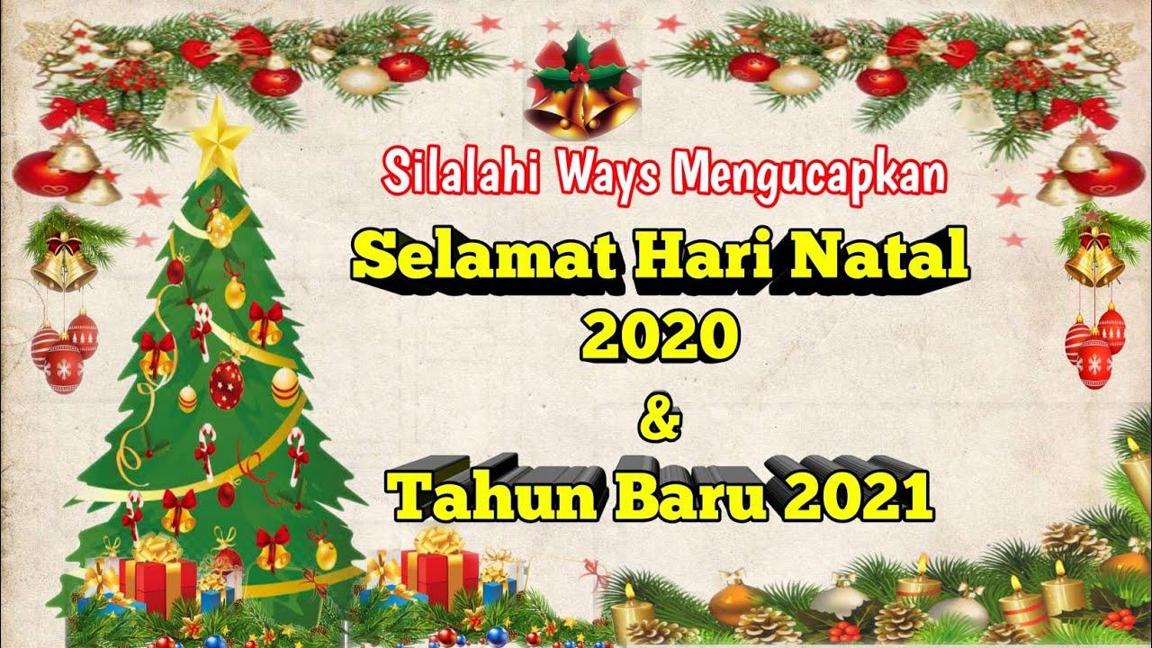 Desain Kartu Ucapan Natal 2020 / Lomba Desain Kartu Ucapan ...