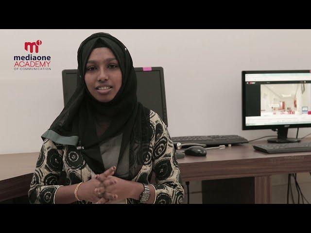 Testimonial Video   Marva K Shaheer   Mediaone Academy