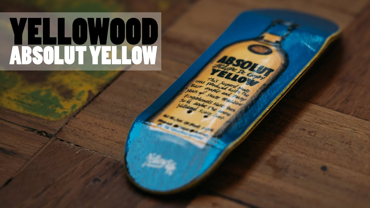 Yellowood absolut yellow fingerboard graphic deck product blog yellowood absolut yellow fingerboard graphic deck product blog voltagebd Choice Image