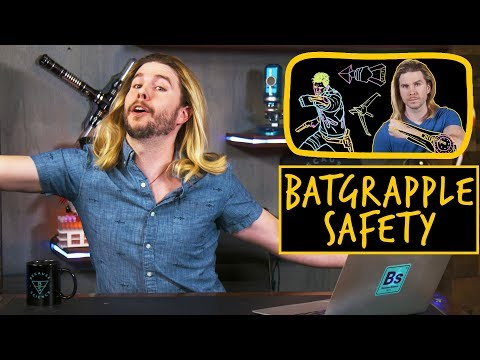 Batman Grappling Hook Safety | Because Science Footnotes