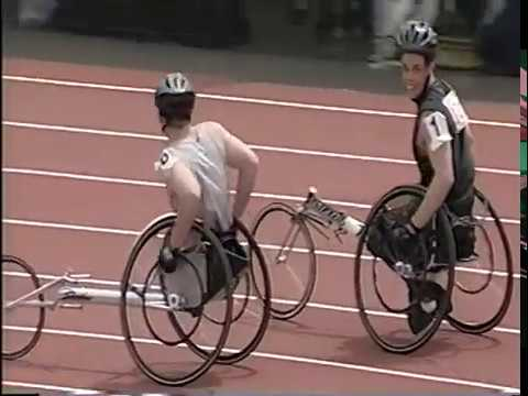2002 OSAA 800M Wheelchair Race