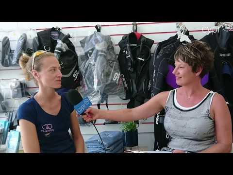 Agata - polska instruktorka nurkowania
