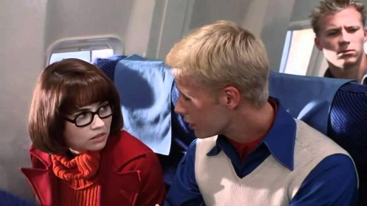 Airplane Glasses Scene