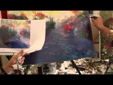 Уроки живописи художника Игоря Сахарова