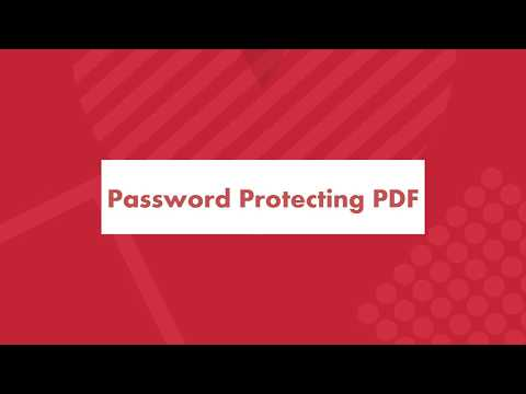How to Password Protect a PDF File Without Adobe?