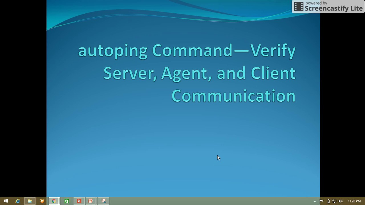 How to ping server in CA Autosys: Autosys tutorial