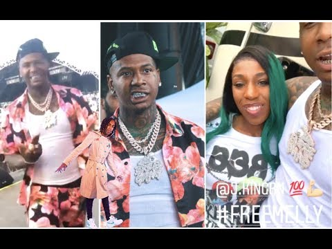 Moneybagg Yo Hooks Up With YNW Melly's Mom At Rolling Loud + Lil Pump Goes TF Off On Old People + Ke
