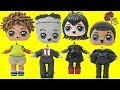 Learn Colors with Hotel Transylvania 3 Custom LOL SURPRISE DOLLS Wrong Heads TOY SCHOOL Surprises