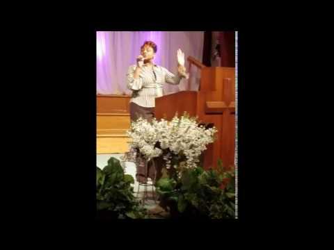 Fiona Varner ministering in song at Vision Community Church in Fredericksburg VA