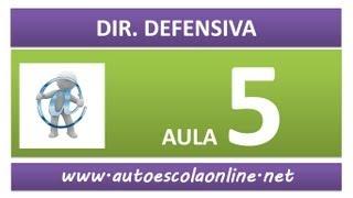 AULA 70 DIREÇÃO DEFENSIVA - CURSO DE LEGISLAÇÃO DE TRÂNSITO EM AUTO ESCOLA E SIMULADO DO DETRAN
