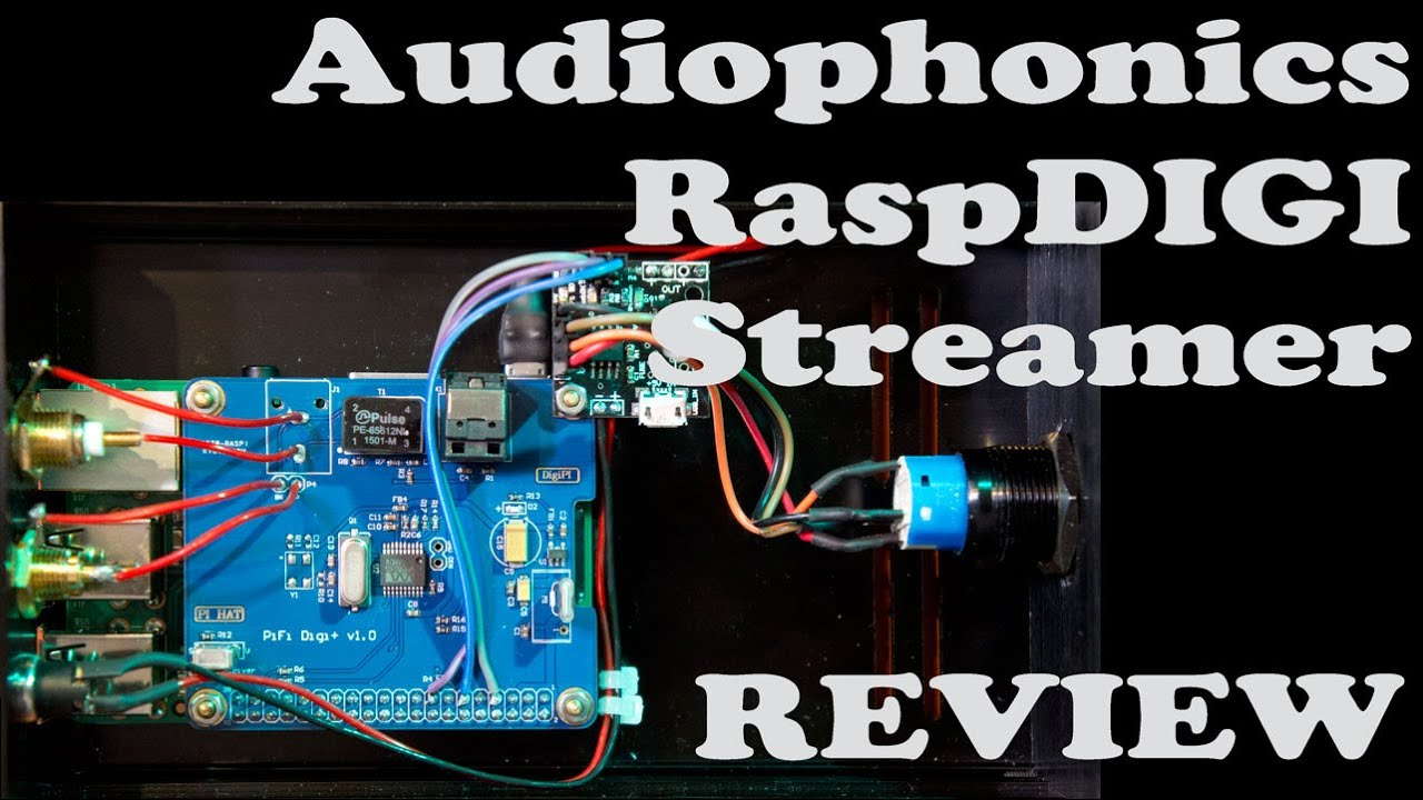 Audiophonics Raspdigi Lte Hifi Streamer/digipi+ Spdif Interface