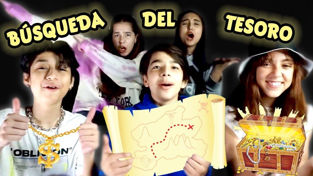 BUSCANDO TESOROS #TEAM / Leon-cit  Gibby  NatalyPop JuanPa y ChiquisNaomi
