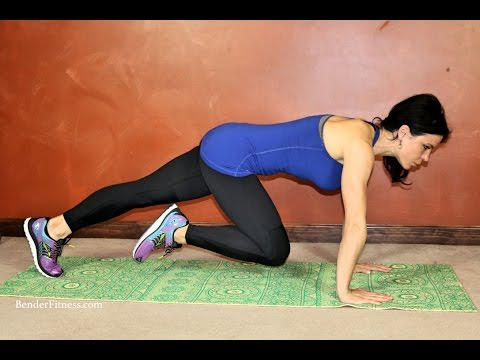 20 Minute Low Impact Mat Workout: Core & Glutes