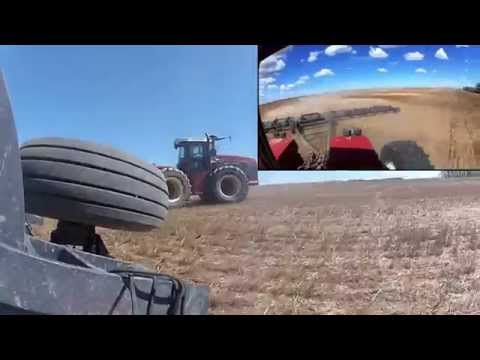 Harrowing Time with a Versatile 2375 in 2013 in Alberta with Go Pro HD