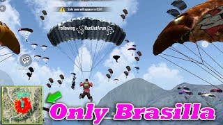 🔥Free Fire Only Brasilla🔥 | Free Fire Attacking Squad Ranked Game Play Tamil | Tips&TRicks Tamil