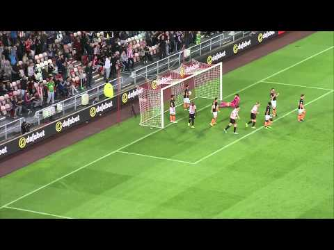 Sunderland 6-3 Exeter City (25/8/15) Capital One Cup Round 2 Highlights 2015/16