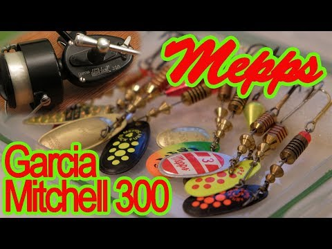 Mepps Spinners Trout Fishing With Garcia Mitchell 300