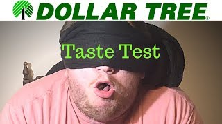 WORSE Than Dog Food?! - Dollar Store Taste Test - 100 Subscriber Special