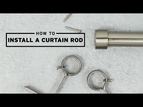 How To Install A Curtain Rod | UMBRA